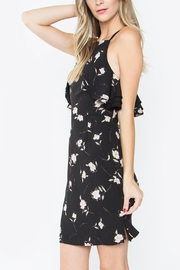 Sugar Lips Floral Ruffle Dress - Front full body