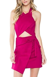 Sugar Lips Halter Dress - Front cropped