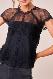 Sugar Lips Icona Lace Top - Product Mini Image