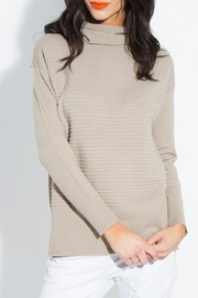 Sugar Lips Isolla Ribbed Sweater - Front cropped