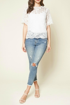 Sugar Lips Joyful Lace Top - Alternate List Image