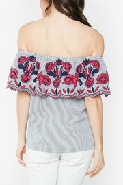 Sugar Lips Julienne Off-The-Shoulder Top - Side cropped
