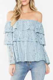Sugar Lips Lace Tiered Top - Product Mini Image
