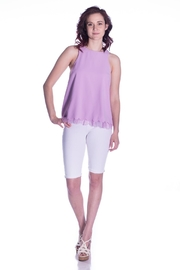 Sugar Lips Lace Trim Top - Side cropped