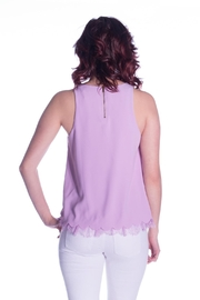 Sugar Lips Lace Trim Top - Other