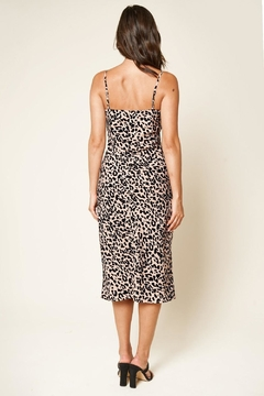 Sugar Lips Leopard Midi Dress - Alternate List Image