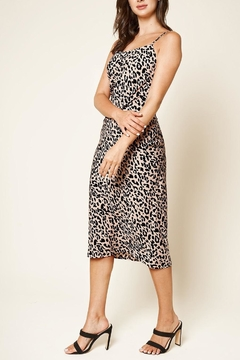 Sugar Lips Leopard Midi Dress - Product List Image