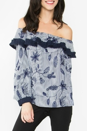 Sugar Lips Mabelle Off-The-Shoulder Top - Front cropped
