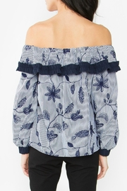 Sugar Lips Mabelle Off-The-Shoulder Top - Front full body