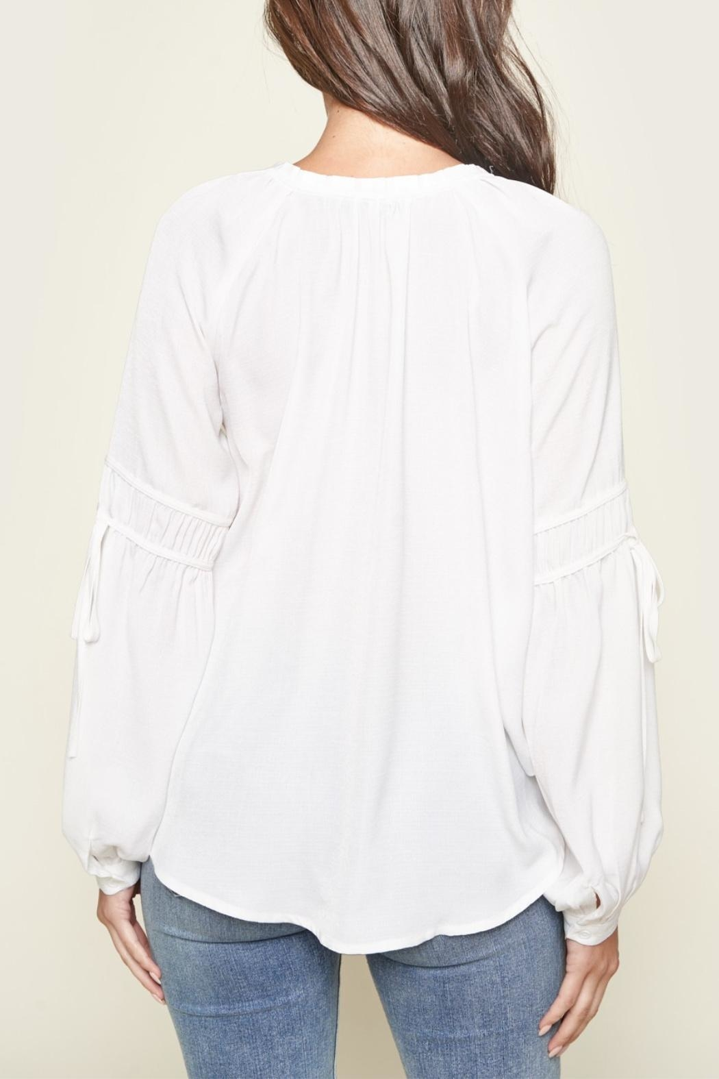 Sugar Lips Make A Move Blouse - Side Cropped Image