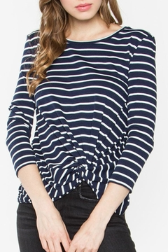 Sugar Lips Margot Stripe Top - Alternate List Image