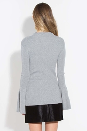 Sugar Lips Marion Bell-Sleeve Sweater - Back cropped