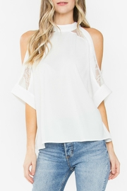 Sugar Lips Mirabel Cold-Shoulder Top - Product Mini Image