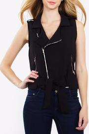 Sugar Lips Moto Vest - Product Mini Image