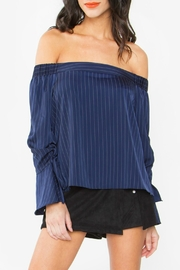 Sugar Lips Orly Off Shoulder Top - Product Mini Image