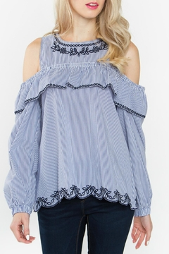 Shoptiques Product: Parker Cold Shoulder Top