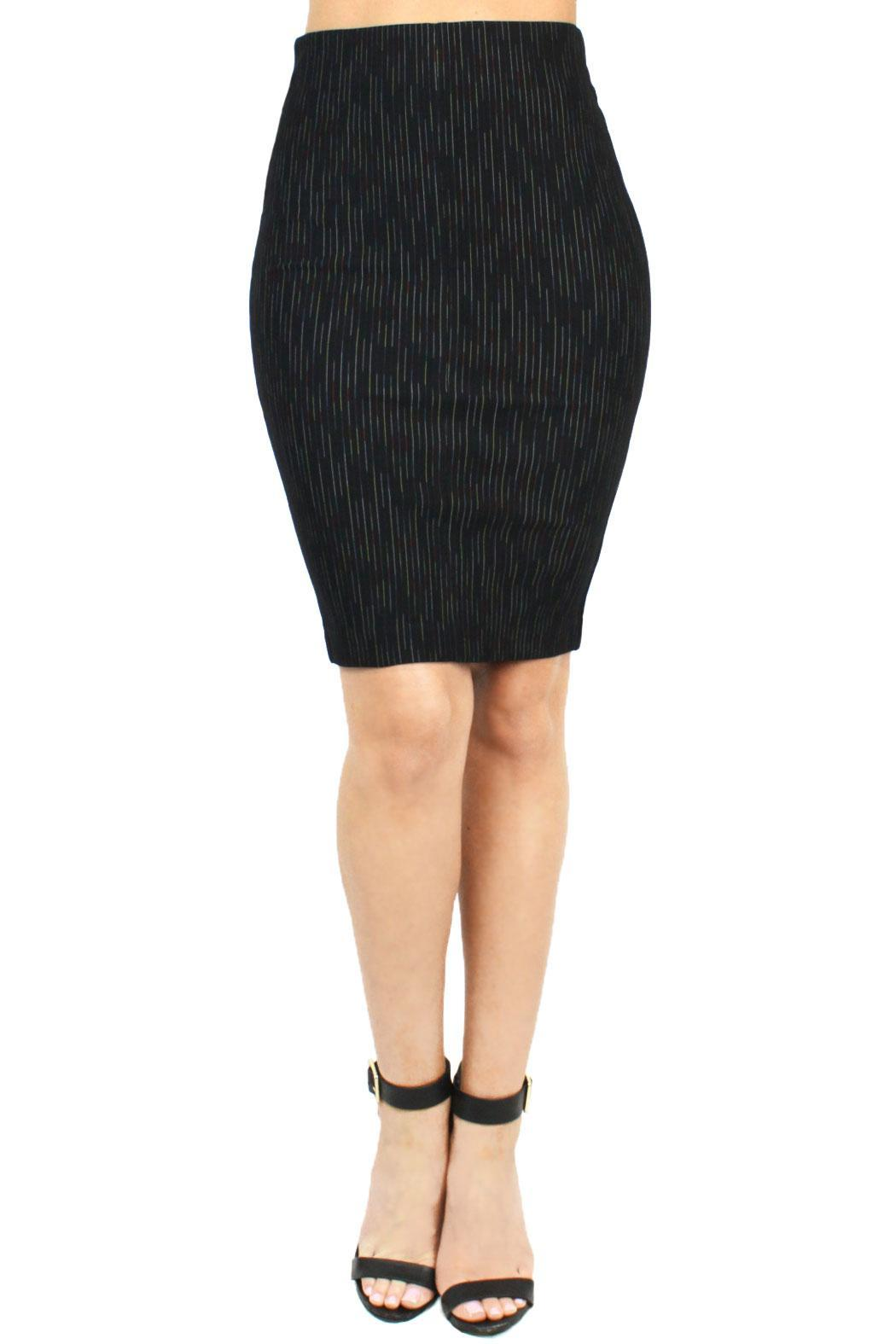 Sugar Lips Pinstripe Pencil Skirt from Los Angeles by B. POY & JO ...
