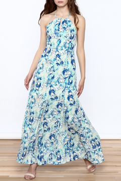 Sugar Lips Pool Print Maxi Dress - Product List Image