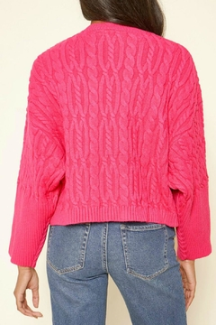 Sugar Lips Quincy Cable Knit Sweater - Alternate List Image