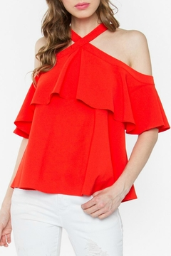 Sugar Lips Rayna Cold Shoulder Top - Product List Image