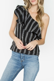 Sugar Lips Reyna One-Shoulder Top - Product Mini Image
