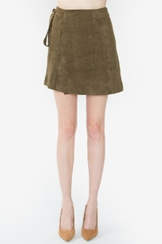 Sugar Lips Rizer Suede Skirt - Product Mini Image