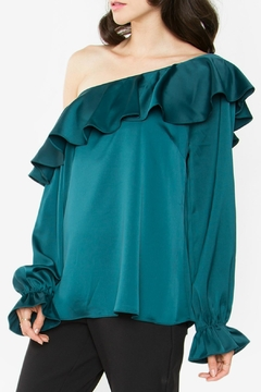 Shoptiques Product: Romanie One-Shoulder Top