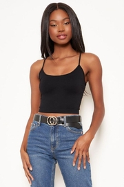 Sugar Lips Seamless Crop Camisole - Front cropped