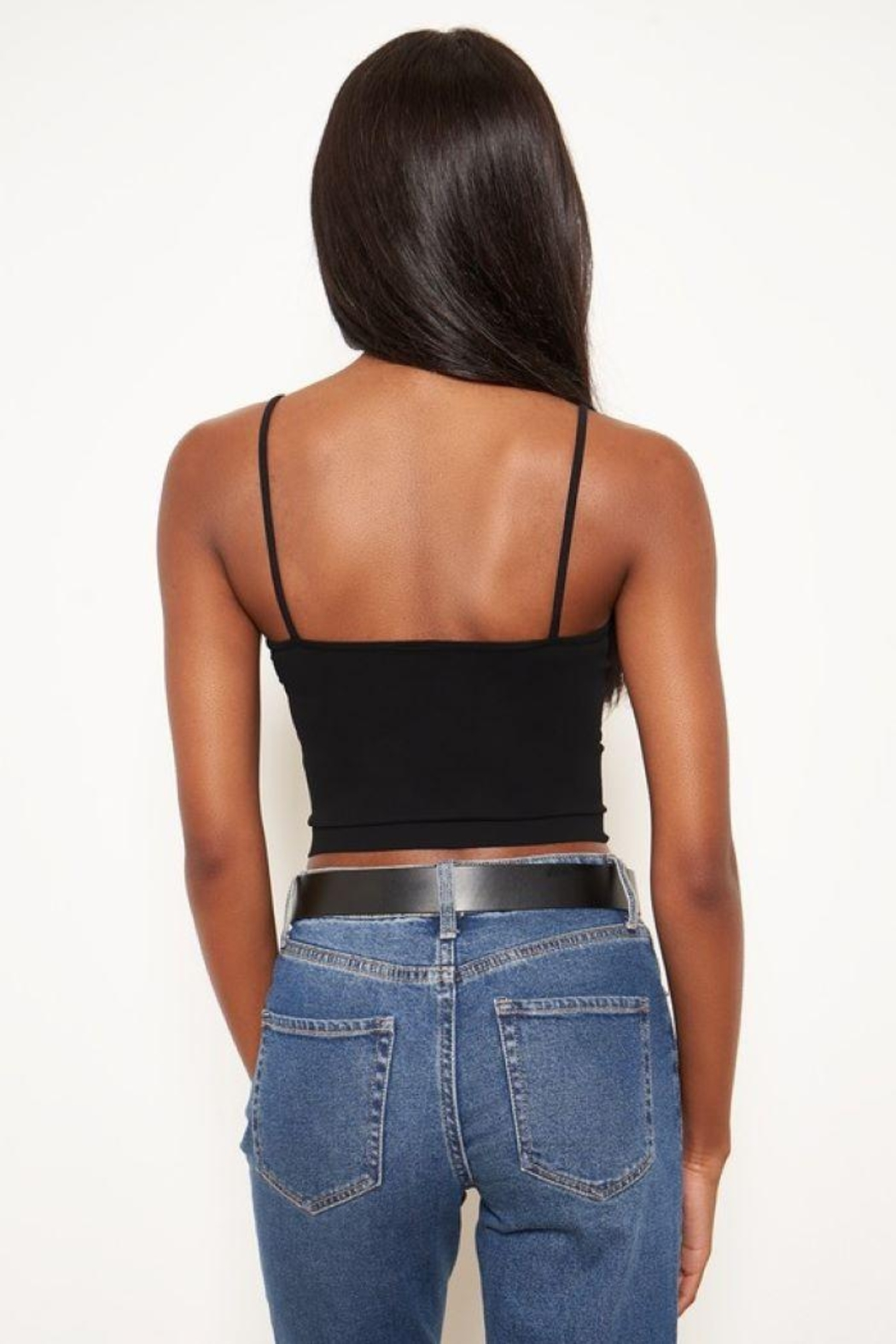 Sugar Lips Seamless Crop Camisole - Side Cropped Image