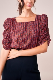 Sugar Lips Sensational State Blouse - Front cropped