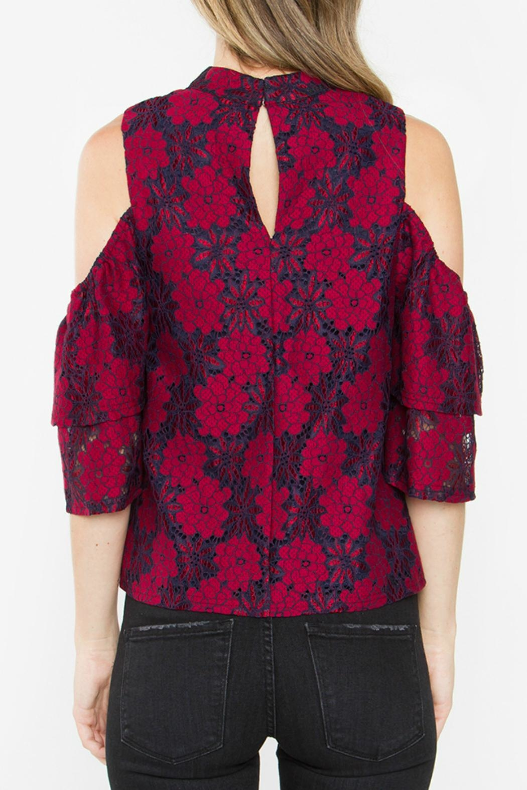 Sugar Lips Serefina Lace Top - Side Cropped Image