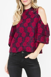 Sugar Lips Serefina Lace Top - Front cropped