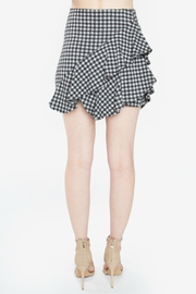Sugar Lips Shirley Gingham Skirt - Front full body