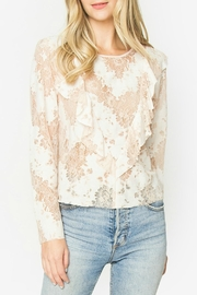 Sugar Lips Sora Lace Top - Front cropped