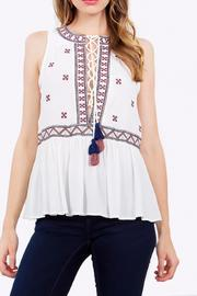 Sugar Lips The Rocco Blouse - Front cropped