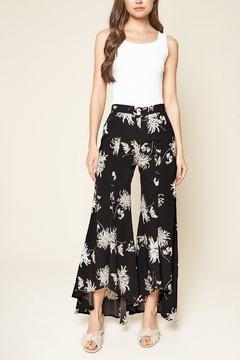 Sugar Lips Tropical Print Culottes - Product List Image