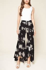 Sugar Lips Tropical Print Culottes - Product Mini Image
