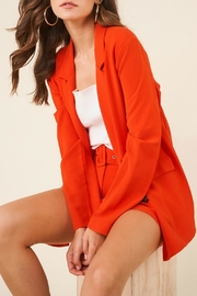 Sugar Lips Vermilion Pocketed Blazer - Product Mini Image