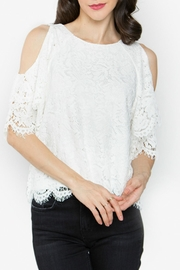 Sugar Lips White Lace Top - Product Mini Image