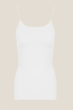 Shoptiques Product: White Ribbed Cami
