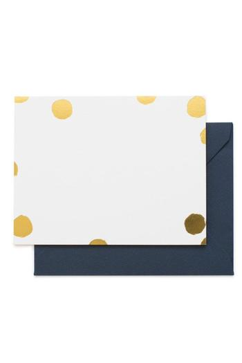 Shoptiques Product: Playful Gold Notes - main