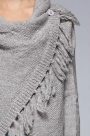 SugarBelle Button Fringe Sweater - Side cropped