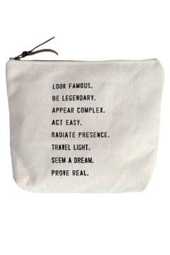 Sugarboo Designs Canvas Bag Famous - Alternate List Image