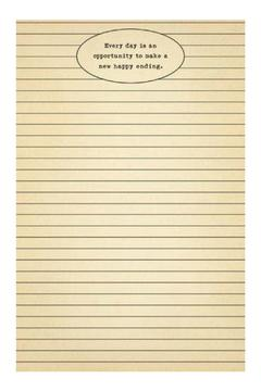 Shoptiques Product: Every Day Notepad