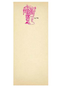 Sugarboo Designs Skinny Notepad Oy-Vey - Alternate List Image
