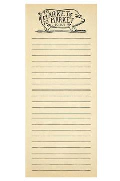 Sugarboo Designs Skinny Notepad To-Market - Alternate List Image