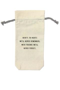 Shoptiques Product: Wine Bag Nights Remebered