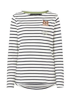 Sugarhill Boutique Cat Stripe Top - Product List Image