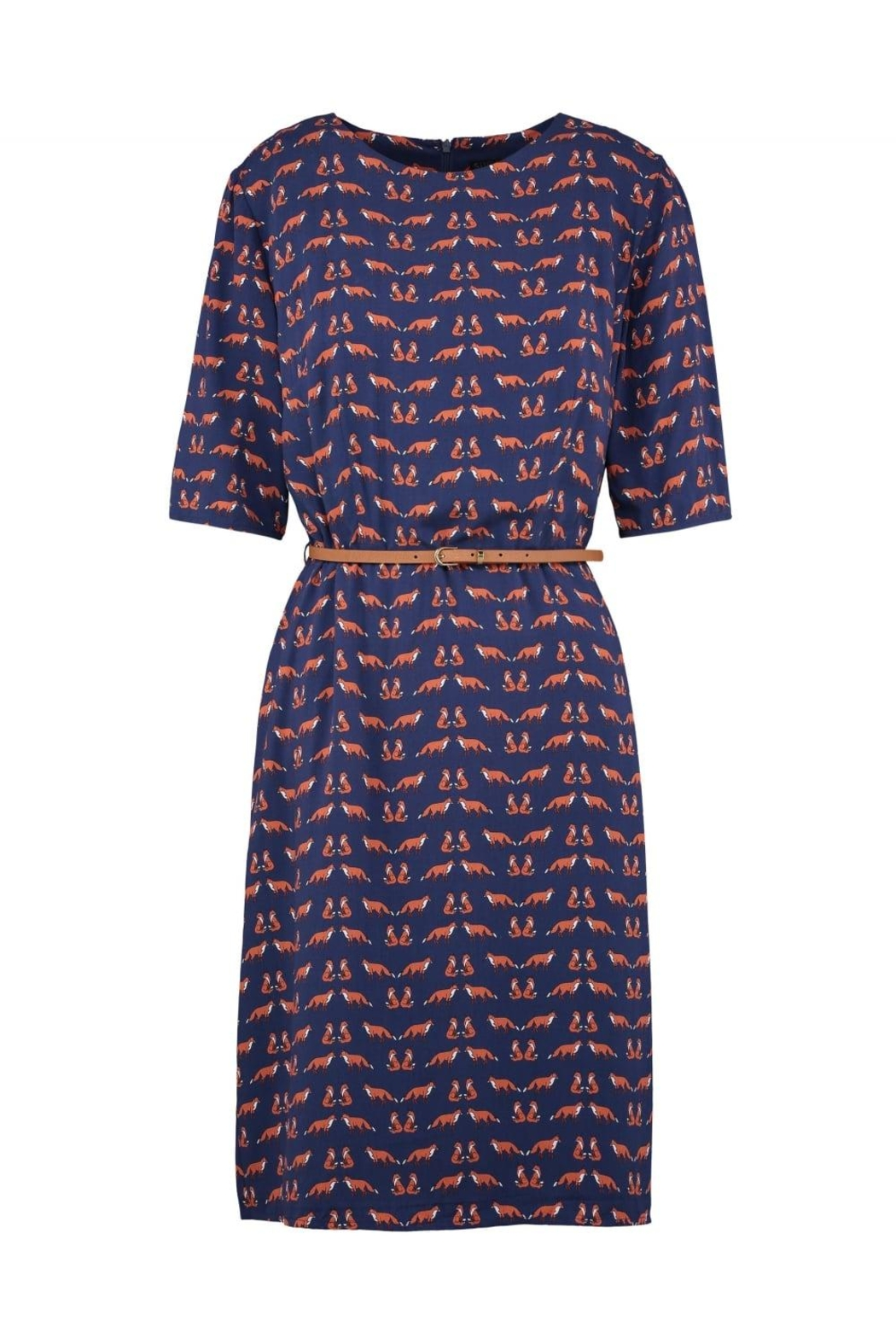 Sugarhill Boutique Fox Skater Dress - Main Image