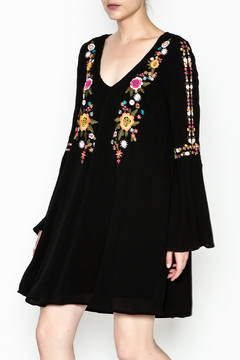 Shoptiques Product: Alla Embroidered Dress